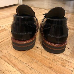 a856d9ff1c9 Stuart Weitzman Shoes - Stuart Weitzman Black Manila Loafer 6.5W